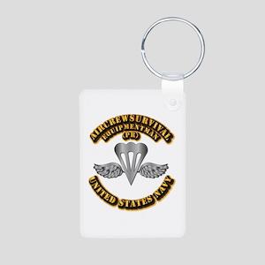 Navy - Rate - PR Aluminum Photo Keychain