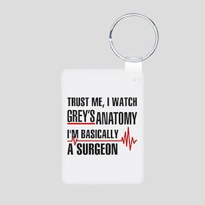Greys Anatomy Trust me Keychains