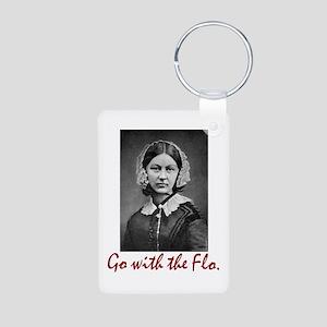 Go With Florence Nightinga Aluminum Keychains