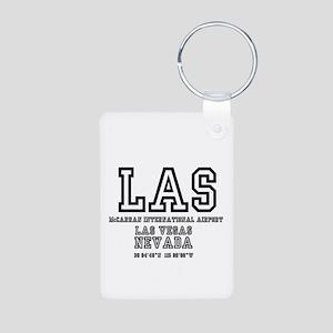 AIRPORT CODES - LAS - MCCARRAN, Keychains