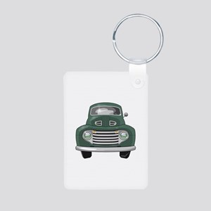 1950 Ford F1 Aluminum Photo Keychain
