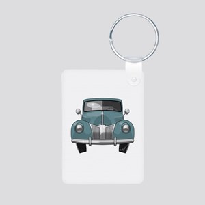 1940 Ford Truck Aluminum Photo Keychain
