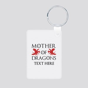 Mother of Dragons Personal Aluminum Photo Keychain