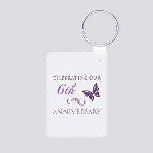 6th Wedding Aniversary (Butterfly) Aluminum Photo