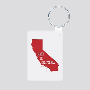 Made in California Aluminum Photo Keychain