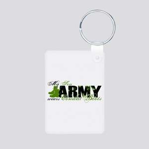 Son Combat Boots - ARMY Aluminum Photo Keychain