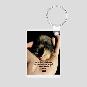 ORNAMENT (Oval) - ...Kindn Aluminum Photo Keychain
