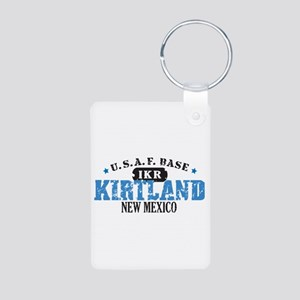 Kirtland Air Force Base Aluminum Photo Keychain