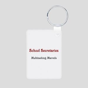 School Sec. Multitasking Marvels Aluminum Photo Ke