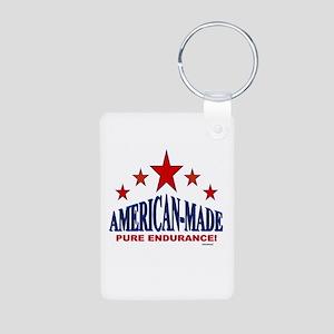 American-Made Pure Endurance Aluminum Photo Keycha