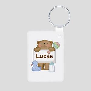 Lucas's Aluminum Photo Keychain