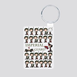 Imperial guar Aluminum Photo Keychain