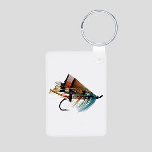 """Fly 2"" Aluminum Photo Keychain"