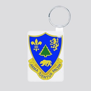 362ND REGIMENT Aluminum Photo Keychain