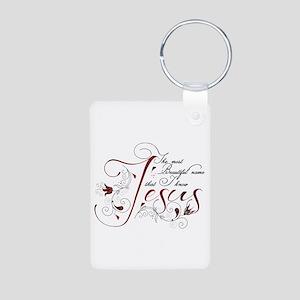 Beautiful name of Jesus Keychains