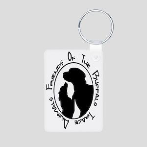 FoBTA logo Aluminum Photo Keychain