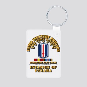 Just Cause - 193rd Infantr Aluminum Photo Keychain