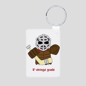 Lil Vintage Hockey Goalie Keychains