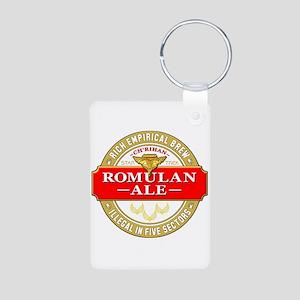 romulan ale Aluminum Photo Keychain