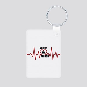 Grey's Anatomy My Person Aluminum Photo Keychain