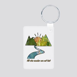 Wander Aluminum Photo Keychain