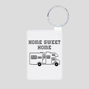 Home Sweet Home Mini Motorhome Aluminum Photo Keyc