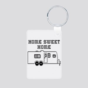 Home Sweet Home Travel Trailer Aluminum Photo Keyc