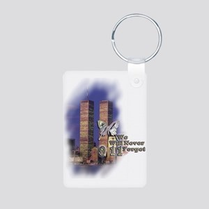 September 11, we will never forget - Aluminum Phot
