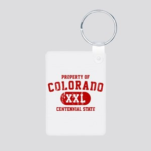 Property of Colorado, The Centennial State Aluminu