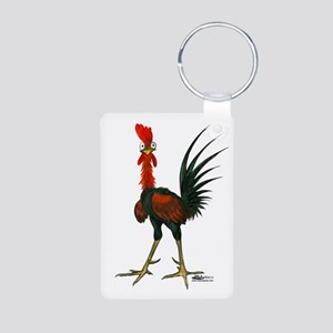 Crazy Rooster Keychains