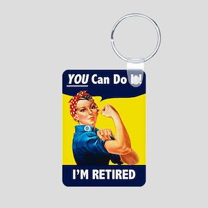 Rosie The Retired Riveter Keychains