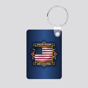 20th Maine (diamond) Keychains