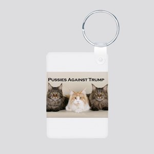 Pussies Against Trump Keychains