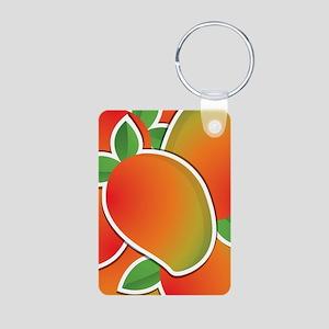 Funky mango Aluminum Photo Keychain