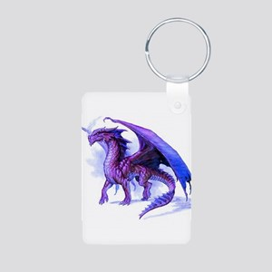 Purple Dragon Keychains