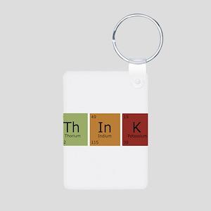 3-thinktrans Aluminum Photo Keychain