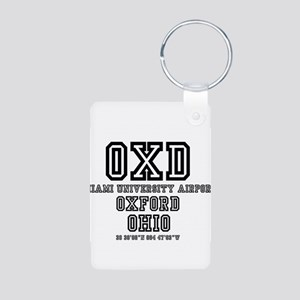 UNIVERSITY AIRPORT CODES - OXD Keychains