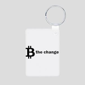 B Be The Change - Bitcoin Keychains