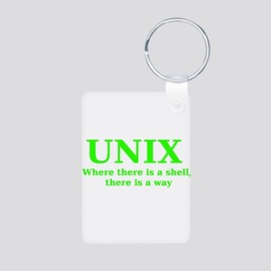 Unix - Where there is a Shell, there is a Way Alum