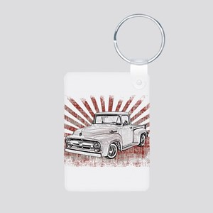 1956 Ford Truck Aluminum Photo Keychain