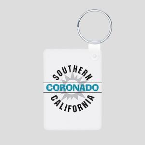 Coronado California Aluminum Photo Keychain