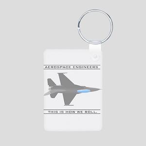 Aero Engineers: How We Roll Aluminum Photo Keychai