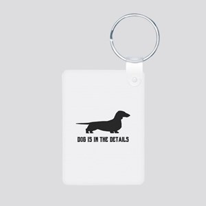 dog is in the details Keychains