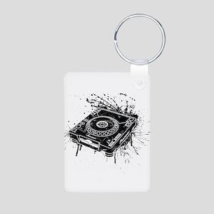 CDJ-1000 Graffiti Aluminum Photo Keychain