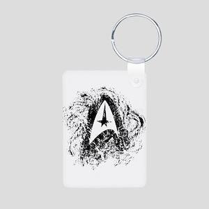 Star Trek Insignia Art Aluminum Photo Keychain
