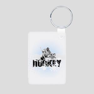 Hockey Player Keychains
