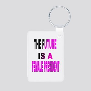The Future Is A Keychains