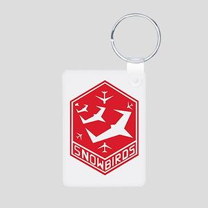 snow_bird_aerobatic Keychains