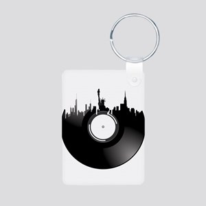 New York City Vinyl Record Keychains