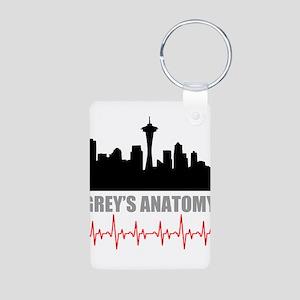 Grey's Anatomy Seatle Aluminum Photo Keychain